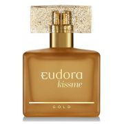 Deo Colônia Kiss Me Gold 50 ml - Eudora