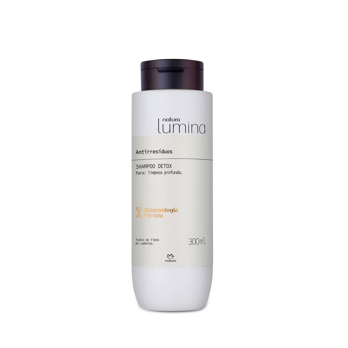 Shampoo Detox Lumina 300 ml - Natura