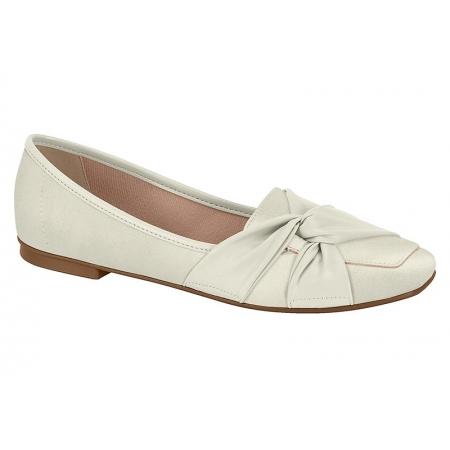 Sapatilha Moleca 5737.102 Branco Off White