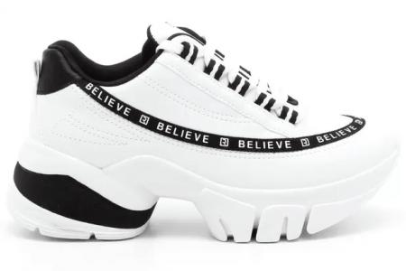 Tênis Feminino Chunky Sneaker Ramarim 2180104 Branco
