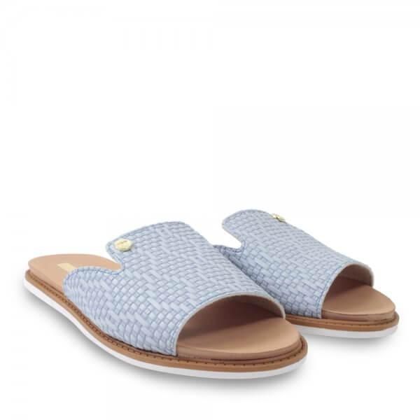Chinelo Slide moleca 5443.102 Jeans