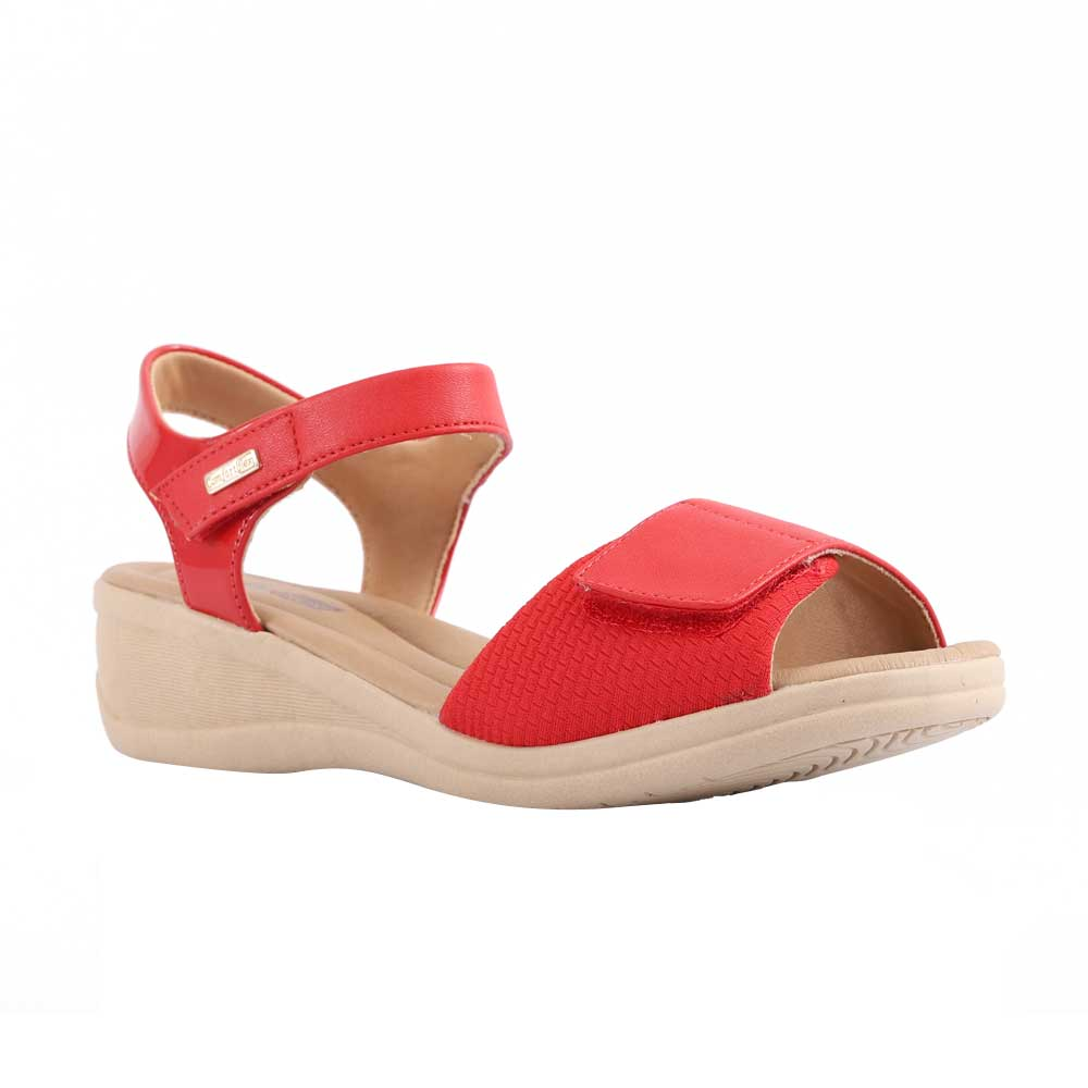 Sandália ConfortFlex 2088403-0002-34 Vermelho