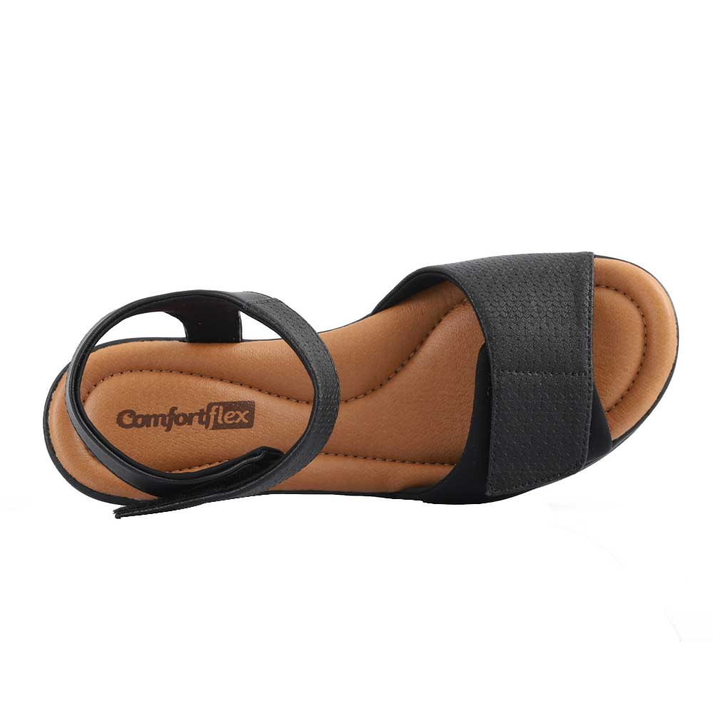 Sandália ConfortFlex 2088403-0003 Preto