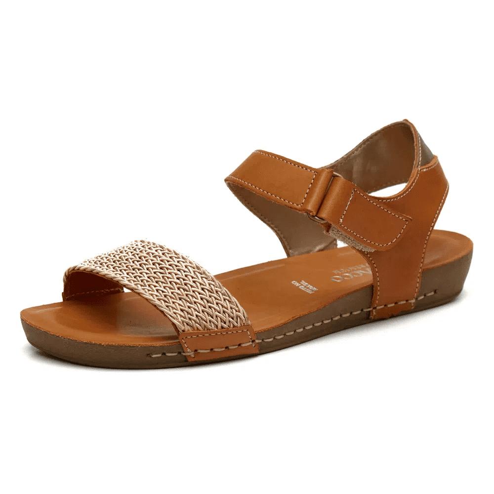 Sandália Flatform - Caramelo 14220BT