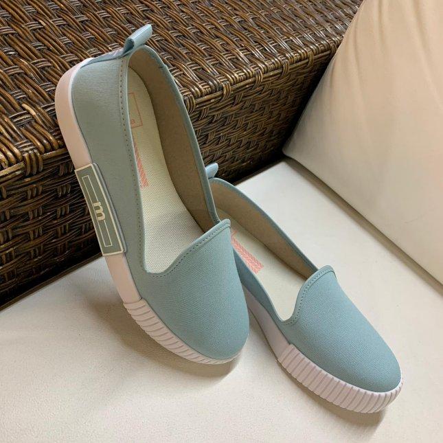 Sapatilha Confort Moleca 5740.100 Azul Turqueza