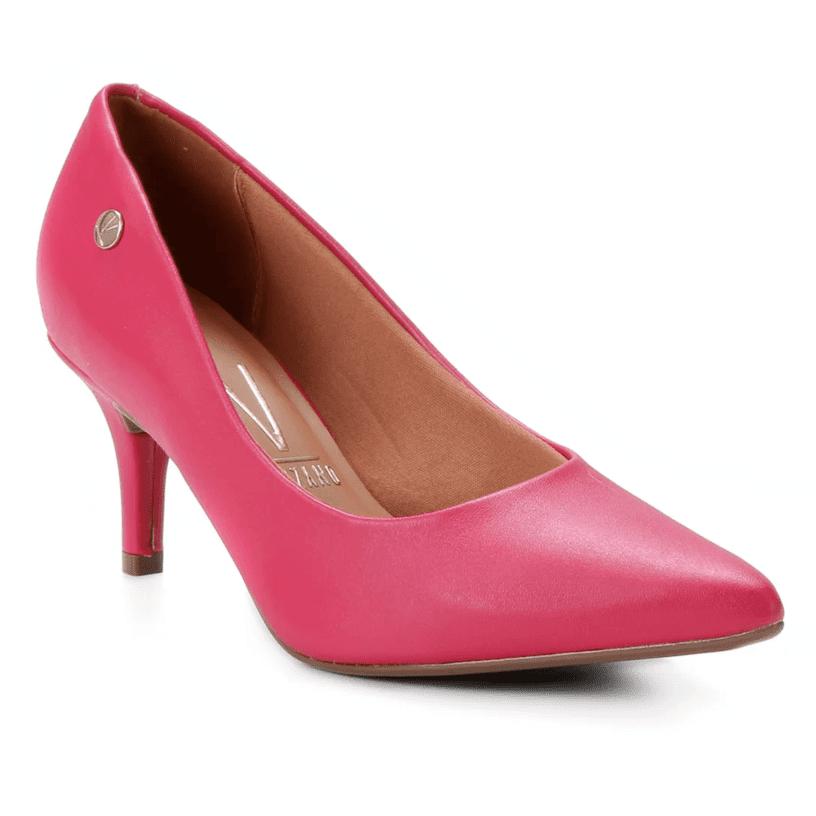 Scarpin Vizzano Rosa Pink Fosco 1185.702 - Bico Fino
