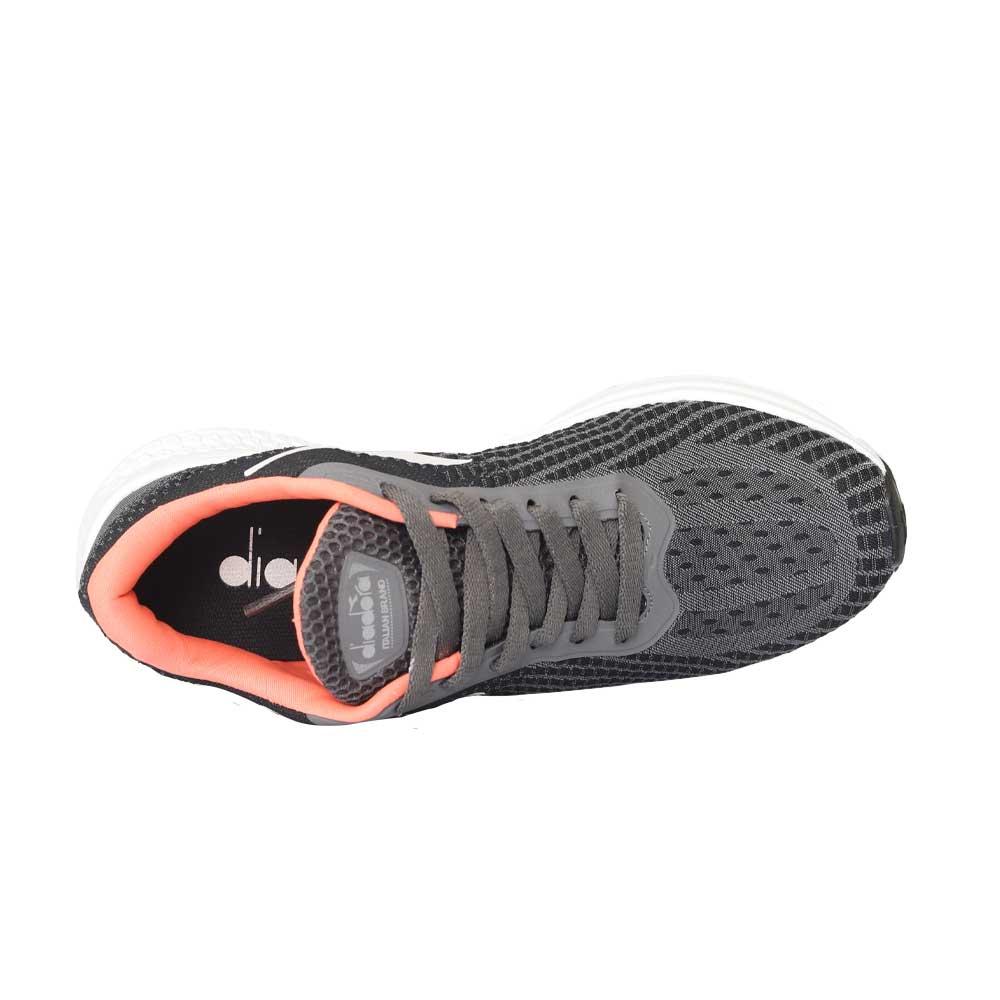 Tênis Diadora Evox W C0125 Preto/Coral