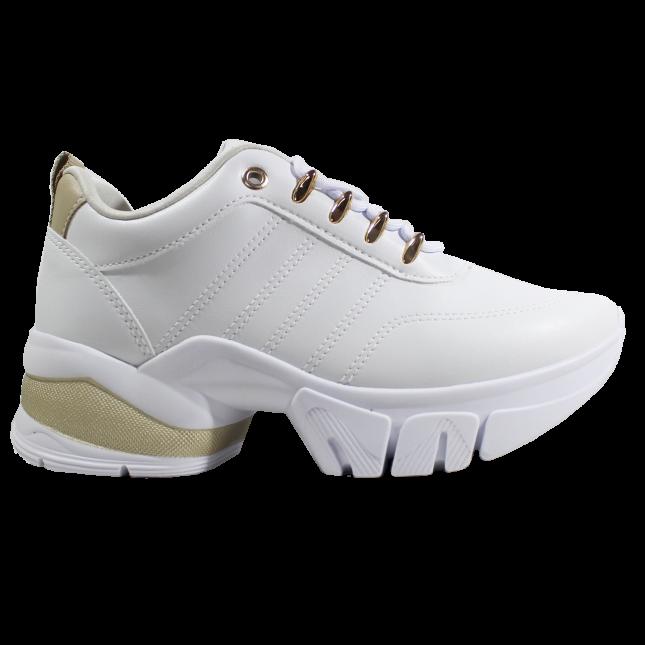 Tenis Ramarim Sneaker 2180203-0001 BRANCO