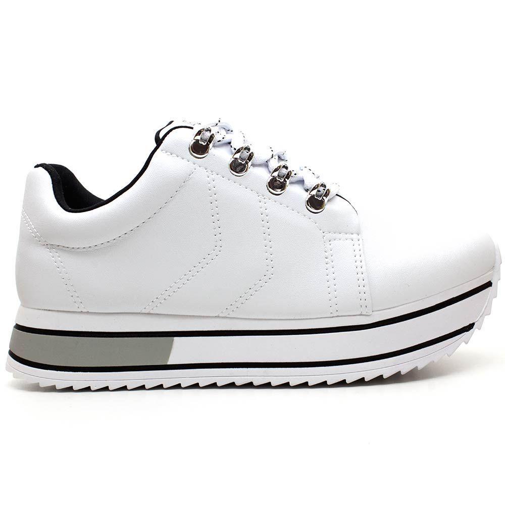 Tenis Sneaker Ramarim 2071201-0005 BRANCO