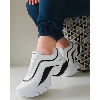 Tenis Sneaker Ramarim Chunk 2180202-0001 BRANCO