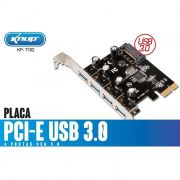 PLACA PCI-E USB 3.0 KP-T102