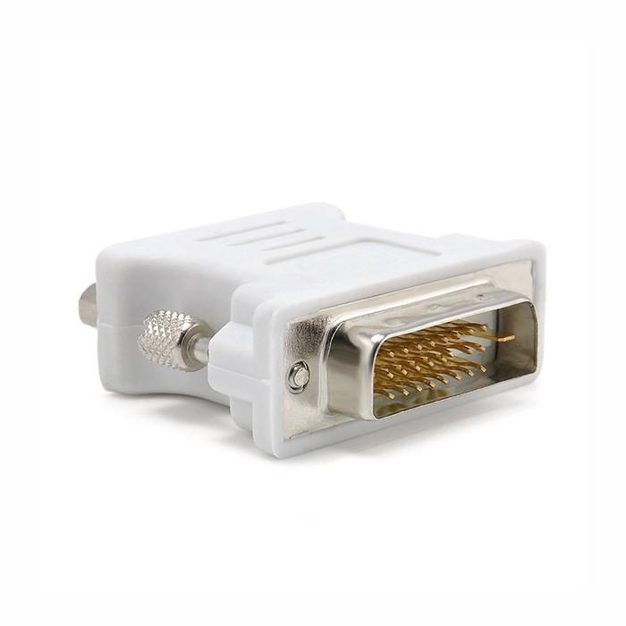 Adaptador dvi-D 24+1/VGA-F rohs 1102