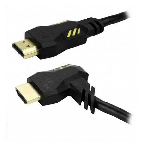 Cabo Hdmi 2.0 4k Gamer Plug 90 Graus 2 Metros