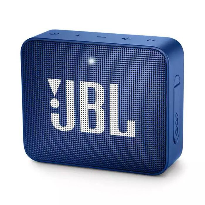Caixa de Som Portátil Bluetooth JBL GO 2  IPX7 Blue