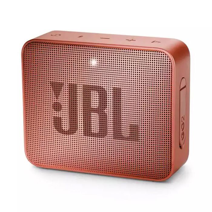 Caixa de Som Portátil Bluetooth JBL GO 2  IPX7 Cinnamon