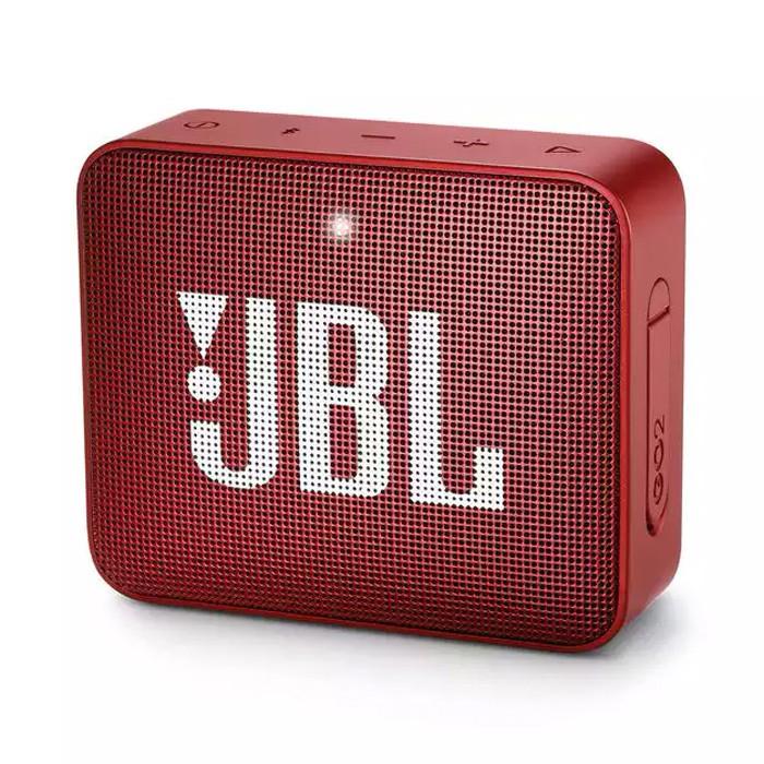 Caixa de Som Portátil Bluetooth JBL GO 2  IPX7 Red