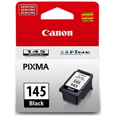 CARTUCHO DE TINTA CANON PG145BK PRETO P/MG2410/MG2510/MG2910/MG3