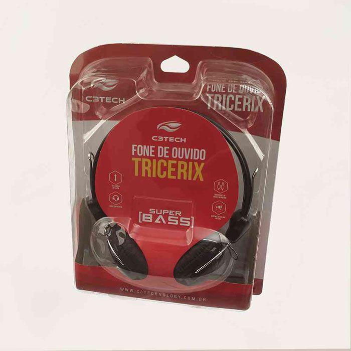Headset C3Tech Tricerix III - MI-2280ERC