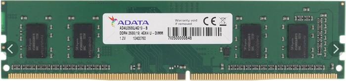 MEMORIA 4 GB DDR4/2666 ADATA AD4U2666J4G19-B