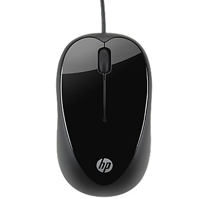 Mouse HP X1000 USB Preto