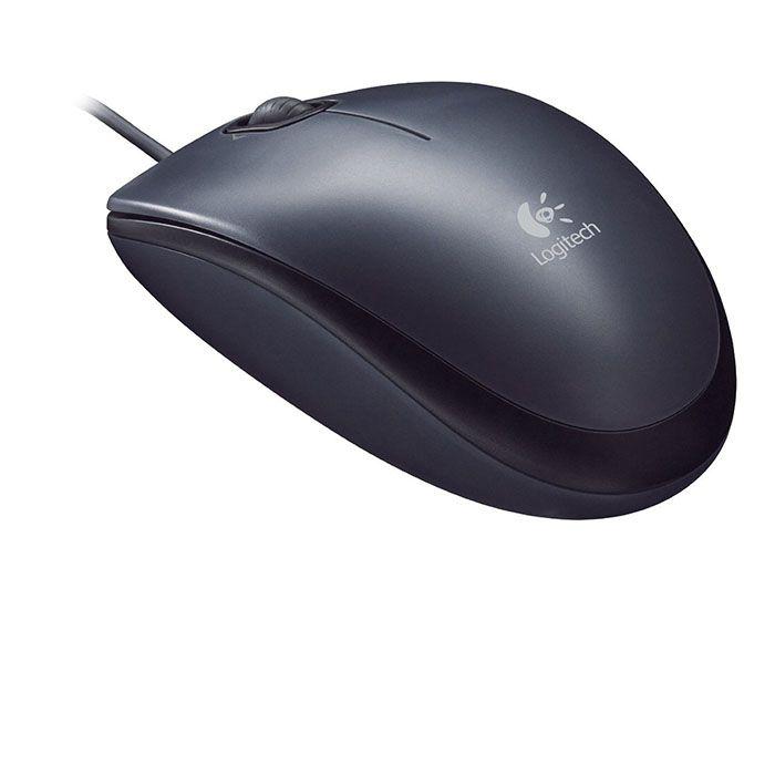 Mouse Logitech m90 USB Preto