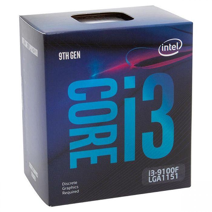 Processador Intel Core i3-9100F Coffee Lake LGA 1151 S/Vídeo