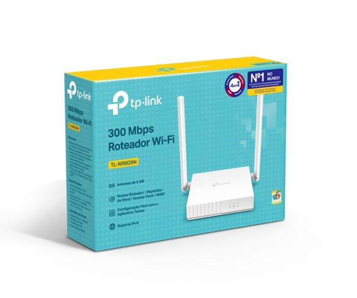 Roteador Tp-link 300mbps N Tl-wr829n