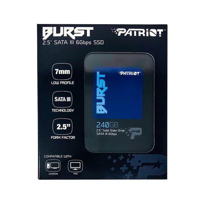 Ssd Patriot 240gb 2,5 Sata III Pbu240gs25ssdr
