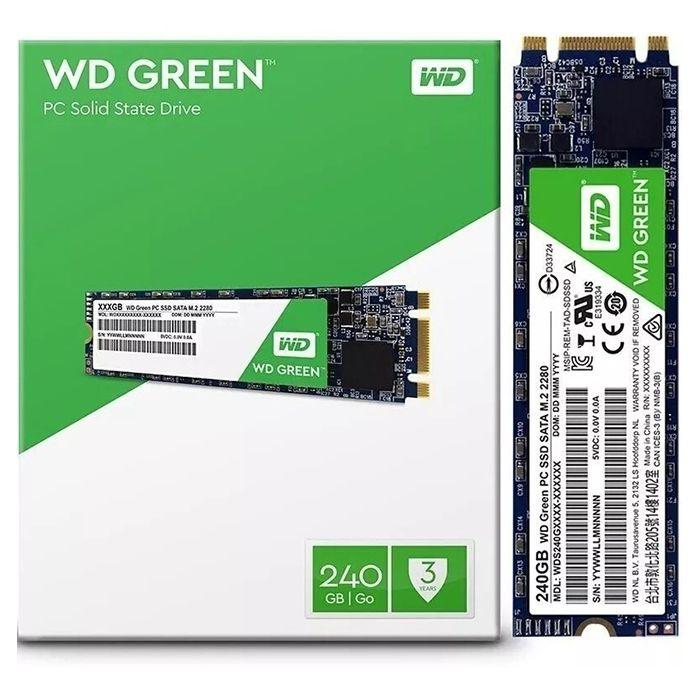 SSD WD GREEN  m2 2280 240  GB
