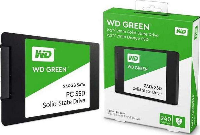 SSD WD Green sata 240 GB