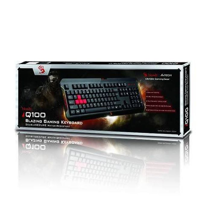 Teclado Gamer Bloody Q100  Usb Preto A4tech