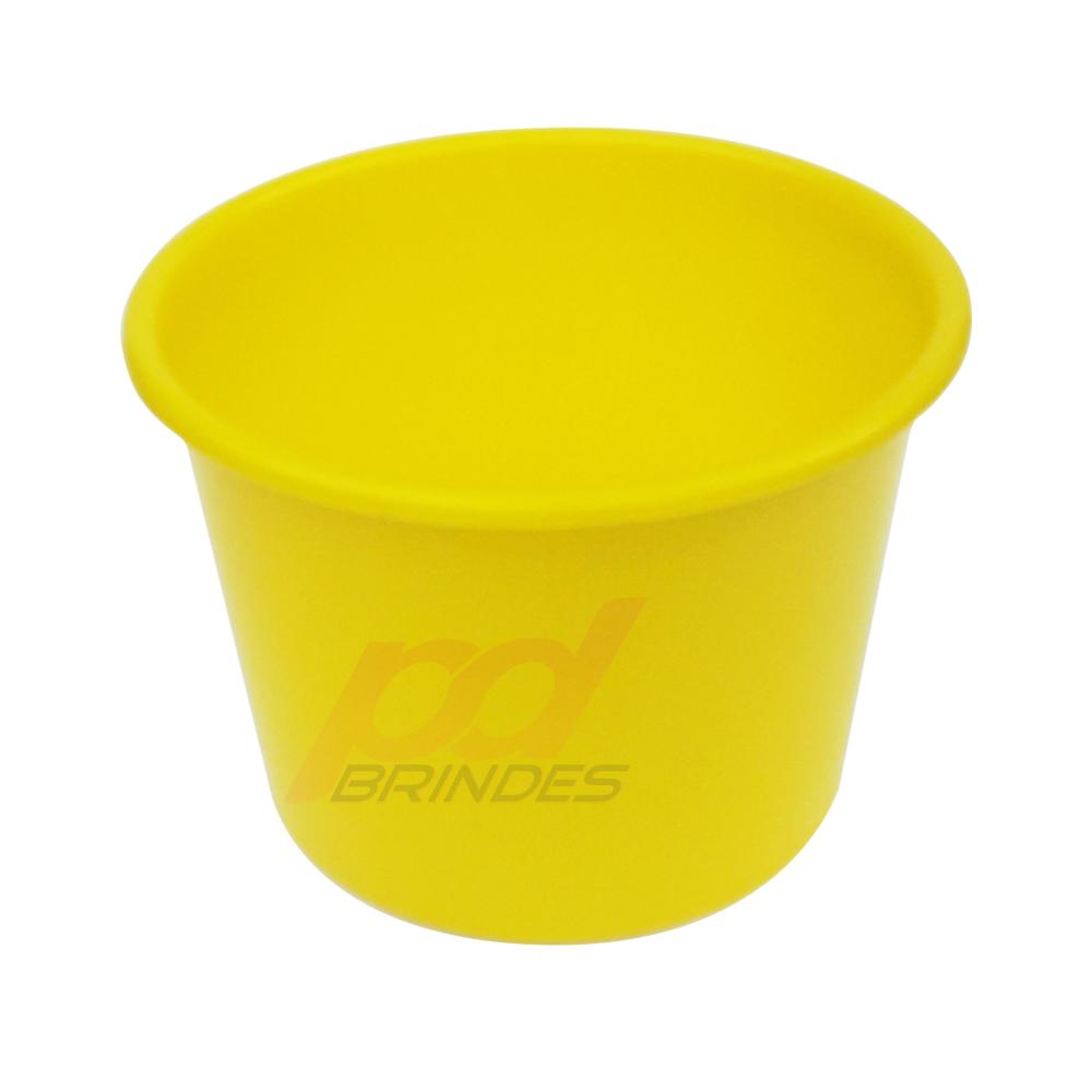 Balde de pipoca Amarelo de 1,5 Litros - Kit 30 peças