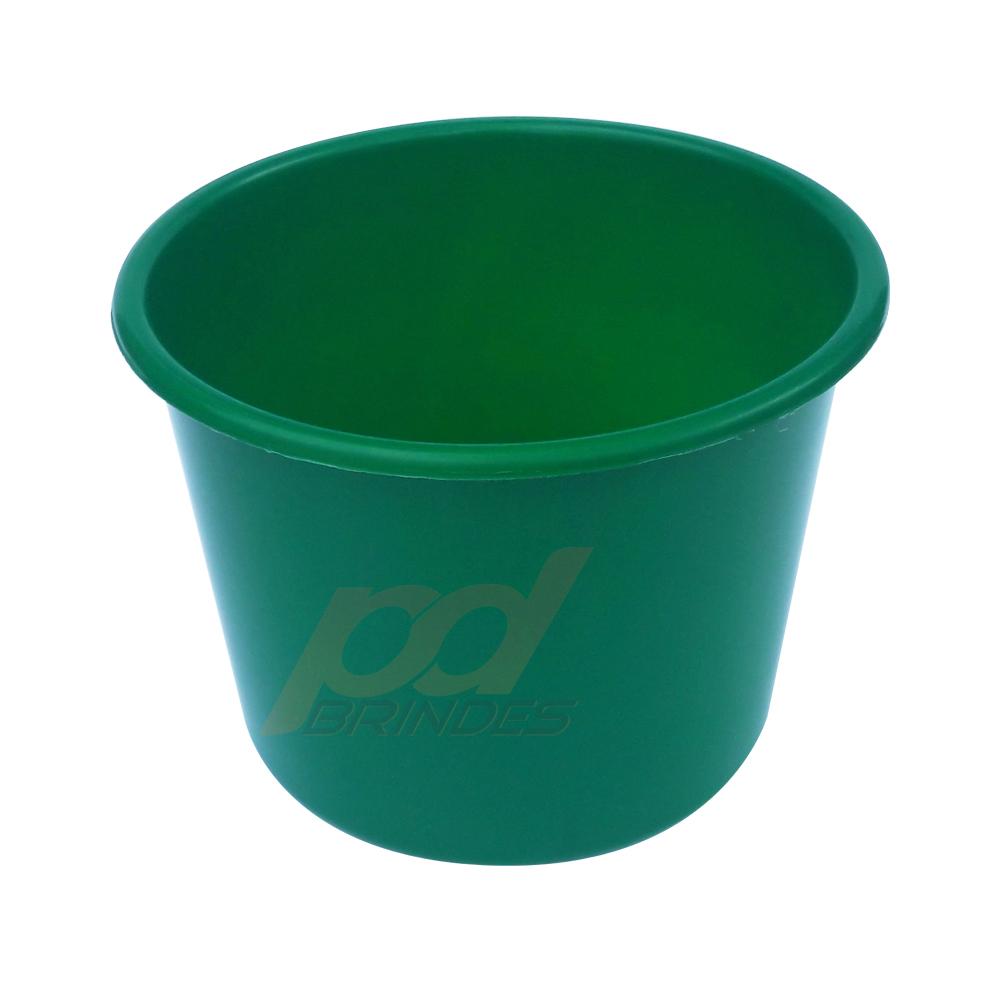 Balde de pipoca Verde de 1,5 Litros - Kit 10 peças