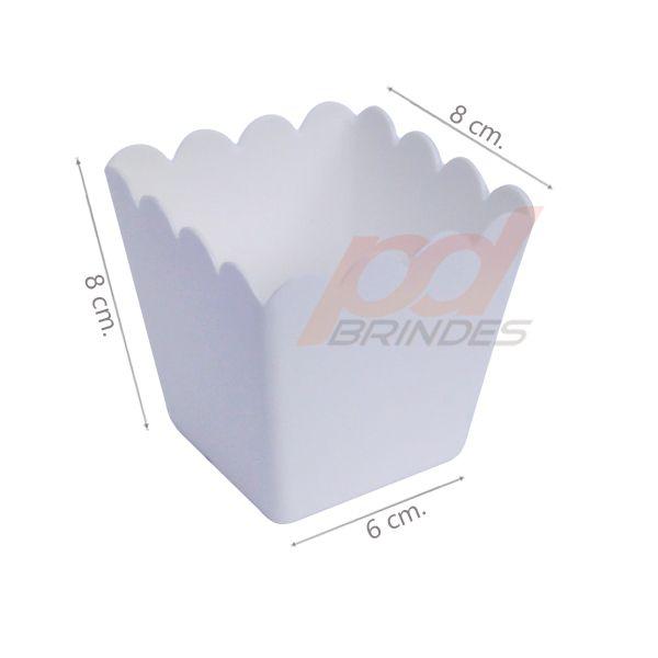 Cachepot 350 ml Branco - Kit 200 peças