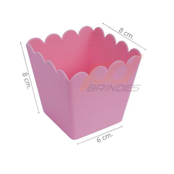 Cachepot 350 ml Rosa - Kit 050 peças
