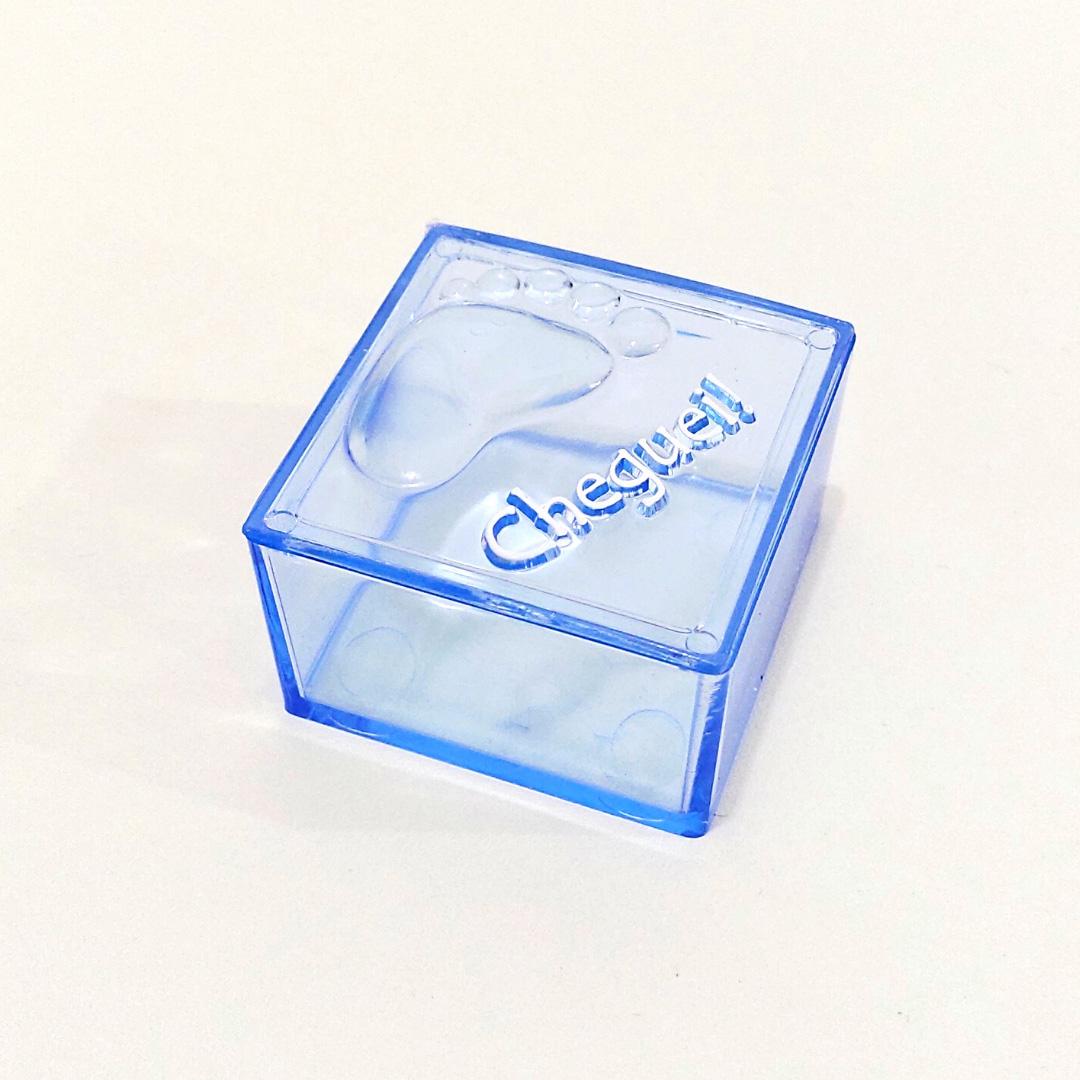 Caixinha Cheguei Azul - Kit 10 peças