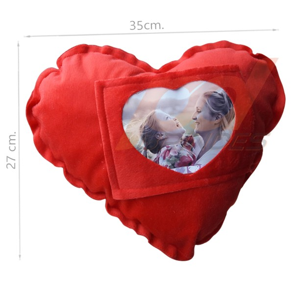 Almofada Coração - Kit 30 peças