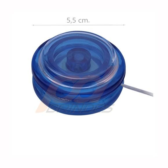 Ioiô Azul - para personalizar - Kit 100 peças