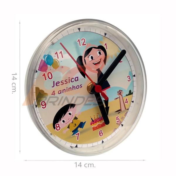 Relógio Multi horas - Kit 100 peças