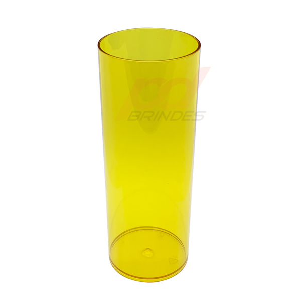 Copo long Drink 300 ml Amarelo - Kit 010 peças