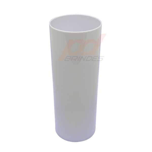 Copo long Drink 300 ml Branco - Kit 100 peças
