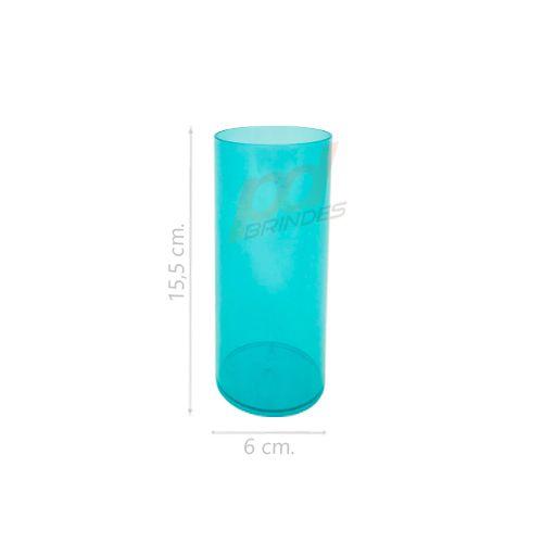 Copo long Drink 300 ml Verde - Kit 050 peças