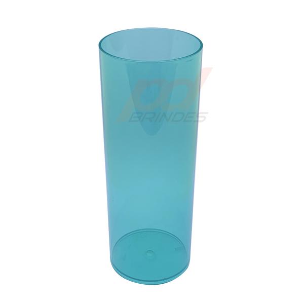 Copo long Drink 300 ml Verde - Kit 100 peças