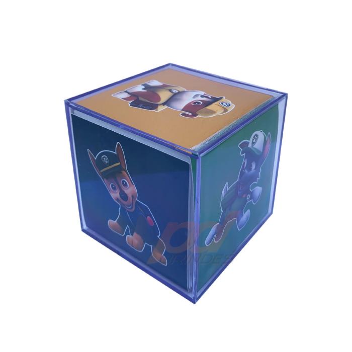 Foto Cubo 6,2 cm Personalizado - 20 Unidades