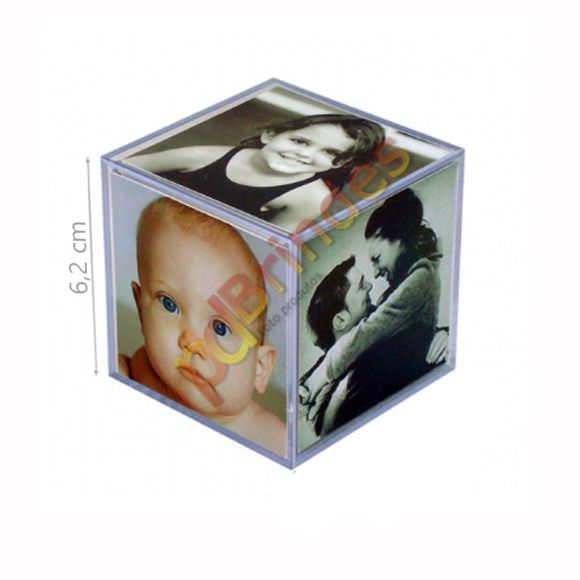 Foto cubo 6,2 cm - Kit 20 Unidades