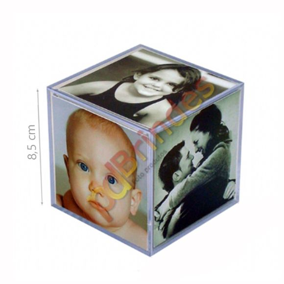 Foto cubo 8,5 cm - Kit 60 Unidades