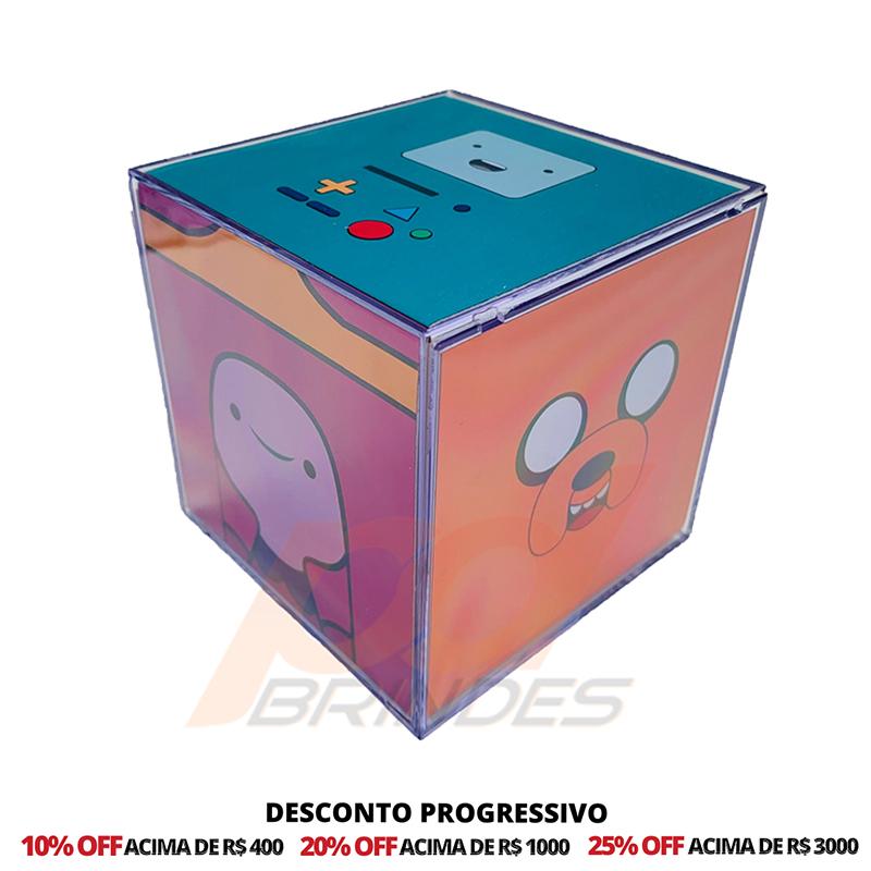 Foto Cubo 8,5 cm Personalizado - 20 Unidades