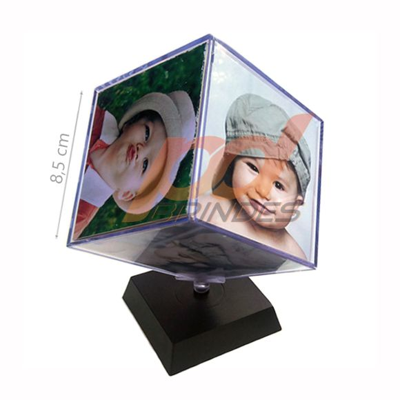 Foto cubo giratório 8,5 cm - 5 Unidades