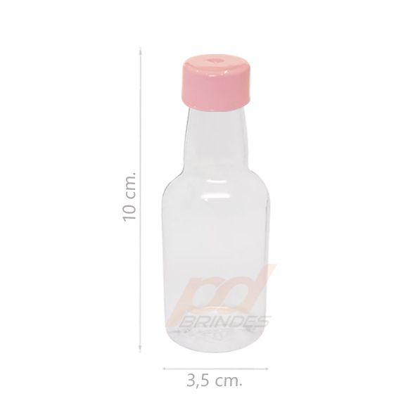 Garrafinha Pet Rosa - Kit 200 peças
