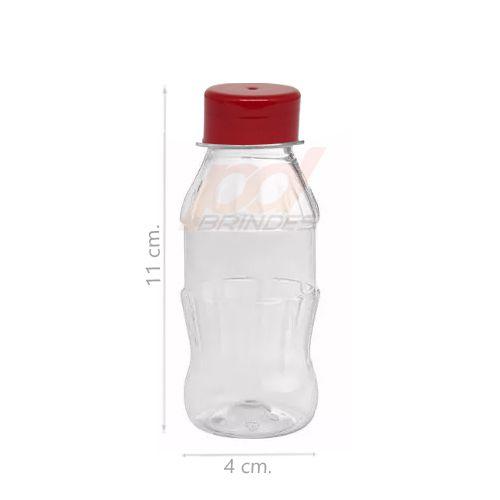 Garrafinha Petinha Vermelha - Kit 050 peças